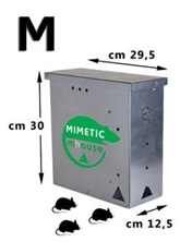 TRAPPOLA MULTICATTURA PER RATTI MIMETIC MOUSE MEDIUM